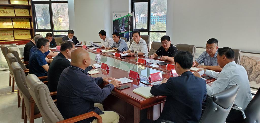 野三坡景区召开党工委第三次会议 暨管委会第二十次主任办公(扩大)会议